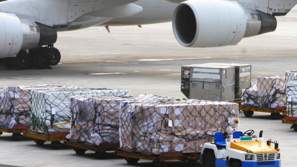 Global demand for for air freight continues to grow