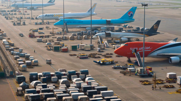 Hong Kong airport sees steady growth in Cargo and air traffic in September
