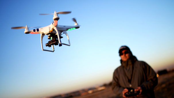 Drones: A new player on aviation's radar