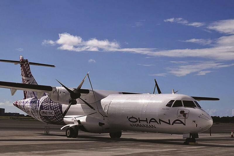 Hawaiian kicks-off new ATR-72 cargo operations with relief