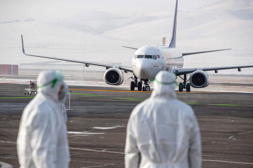 Airlines suspend China flights because of coronavirus - Cargo ...